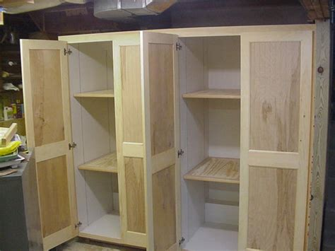 How To Build Storage Cabinets With Doors Garage Cabinets Build Storage Garage Cabinets