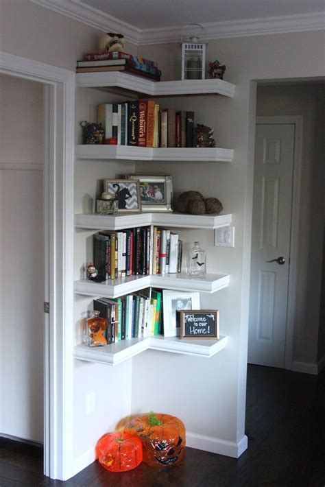 corner shelves living room corner shelves i love how you can put a small corner to