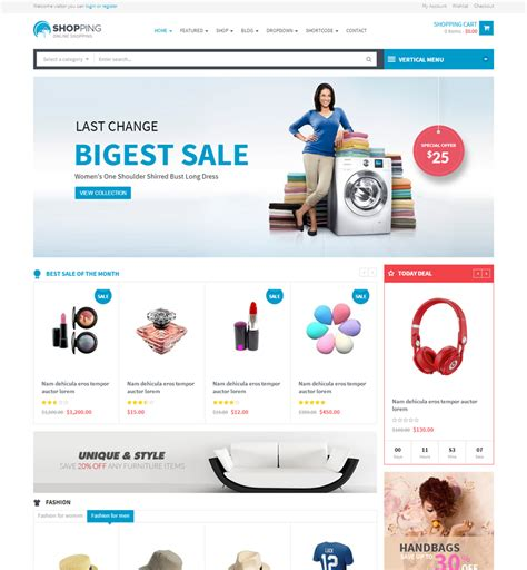 best shopping cart templates free software ecommerce shopping cart templates