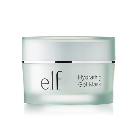 e l f hydrating moisturizer hydrating gel mask e l f cosmetics