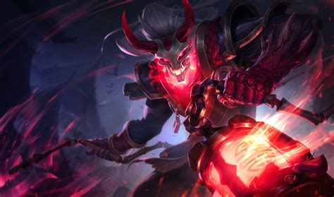 wallpaper 4k lol blood moon thresh lol wallpapers