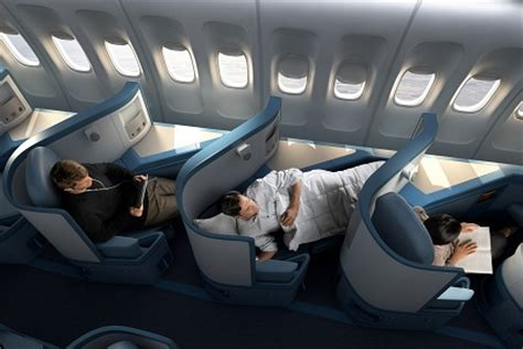 Delta 777 Interior by The State Of Lie Flat Business Class On American Carriers