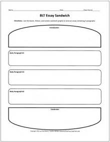 Essay Organizer Template by Free Graphic Organizers For Teaching Writing