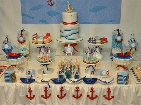 Ahoy Baby Shower Decorations by Ahoy Nautical Theme Baby Shower Baby Shower Ideas
