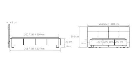 bett wandpaneel polsterbett mit wandpaneel z b 140x200 cm mill creek
