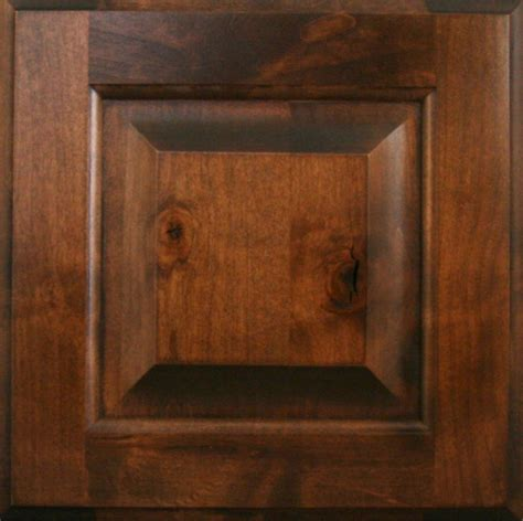 Alderwood Kitchen Cabinets by Knotty Alder Finishes Burrows Cabinets Central Texas
