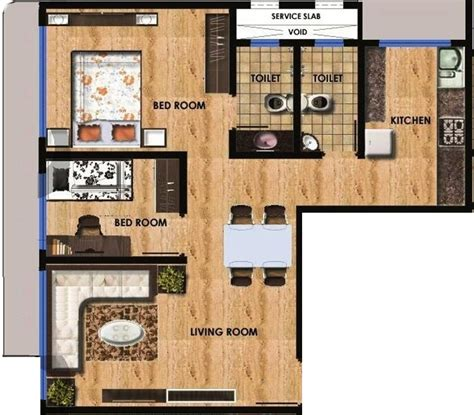 750 sq ft apartment 750 sq ft 1 bhk 2t apartment for sale in maitree