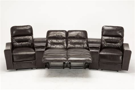 home theatre loveseat home theater sofa recliner synergy home furnishings
