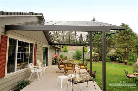 backyard deck kits aluminum patio covers aluminum patio cover kits ricksfencing com need a gutter