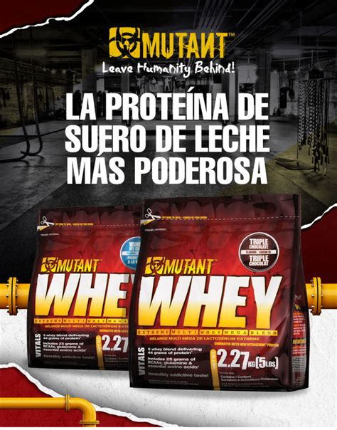 Whey Mutant lab nutrition mutant whey 5 lbs