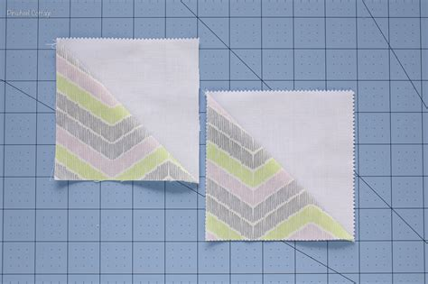 how to sew two half square triangles a step by step tutorial 187 loganberry handmade