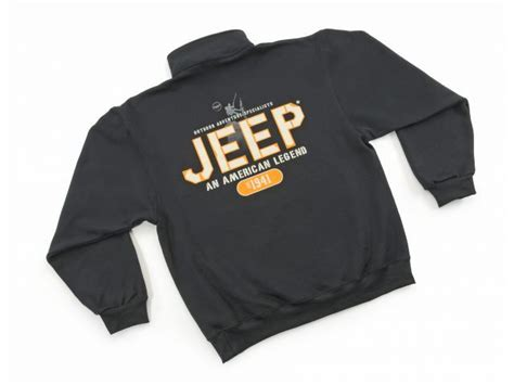 Jeep Attire Jeep Clothing Jpf891 M An American Legend 1 4 Zip