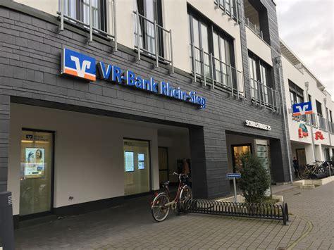 Vr Bank Rhein Sieg Eg Gesch 228 Ftsstelle Sankt Augustin