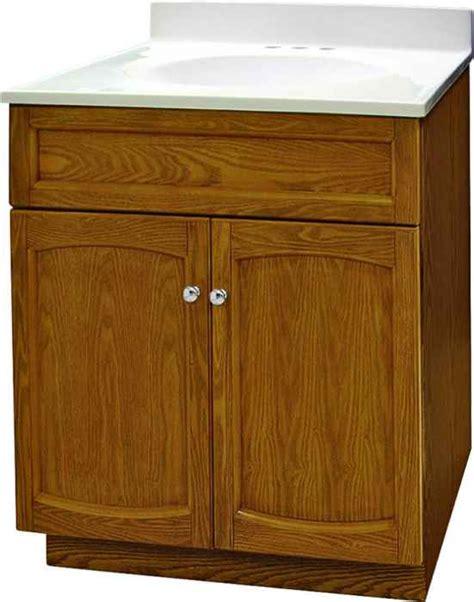Foremost Groups Vanities by Foremost Groups Heo2418 24x18 Oak Heartland Oak Vanity At