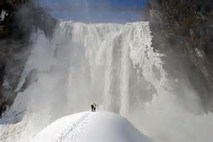 Montmorency falls canada world for travel