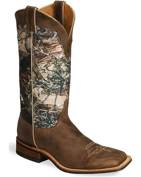 camo cowboy boots justin bent rail camo cowboy boots square toe sheplers