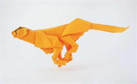 How To Make A Origami Cheetah Step By Step - cheetah by aresorigami on deviantart