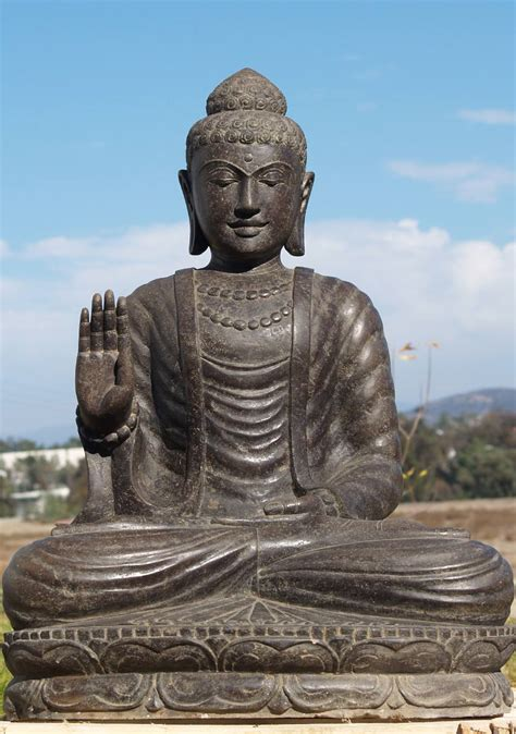 Buddha Garden Statue by Sold Abhaya Buddha Garden Statue 40 Quot 77ls6 Hindu Gods