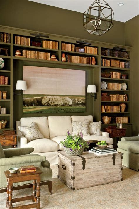 bookcases for rooms the study nashville idea house tour upholstery paint colors and bookcases
