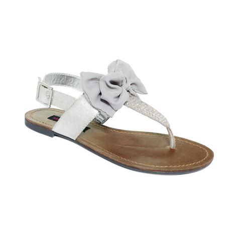 gray flat shoes material solar flat sandals in gray grey lyst