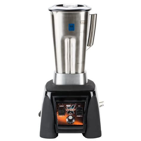 Blender Waring waring mx1200xts x prep 3 5 hp commercial blender with adjustable speed paddle switches 64 oz
