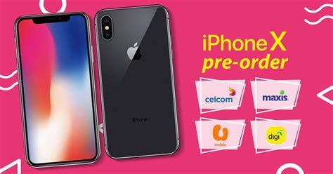 comparison apple iphone  pre order plans  celcom