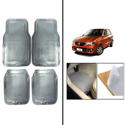 New Car Floor Mats by Buy Car Floor Mats For Maruti New Alto 800 Transparent