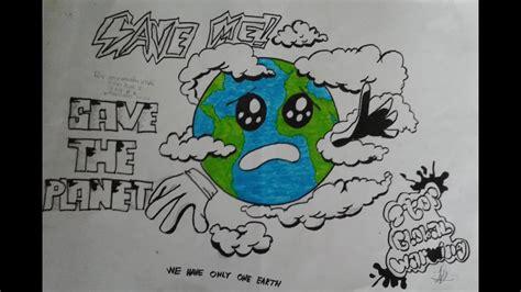 cara membuat poster global warming membuat poster pemanasan global global warming youtube