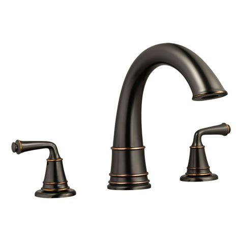 roman bathtub faucets glacier bay lyndhurst 2 handle deck mount roman tub faucet