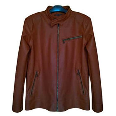 Jaket Kulit Pria Warna Coklat Muda new update 04 09 14 jaket kulit pria kasual 3 model