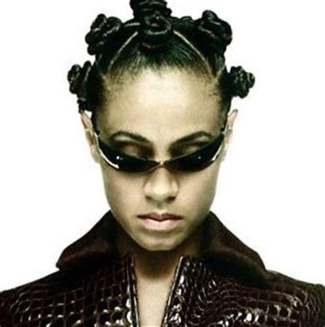 the matrix haircut jada pinkett smith bantu knots and the matrix on pinterest