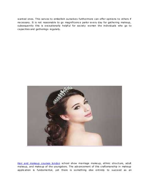 hair and makeup courses london extensive hair and makeup courses london