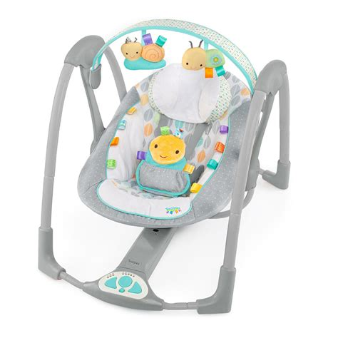 portable baby swings taggies swing n go portable swing review momspotted