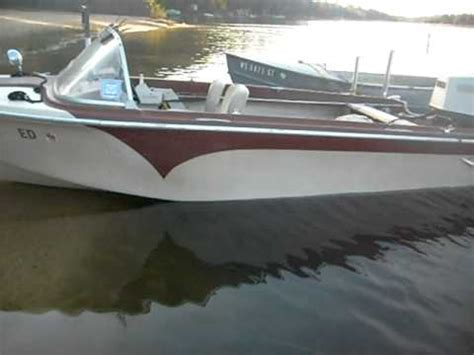 old u boat watches vintage silverline boat with 1972 65hp johnson outboard