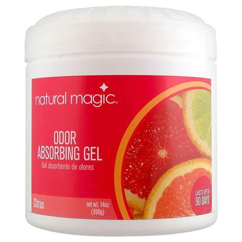 bathroom odor absorber natural magic 14 oz citrus odor absorbing gel 4119h the