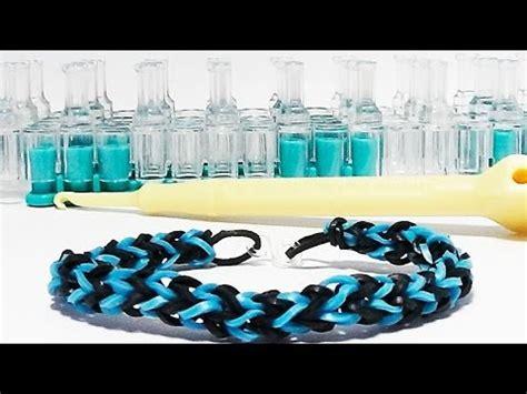 cara membuat gelang dari elastic band cara membuat loom videolike
