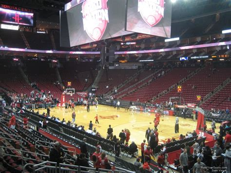 Toyota Center Section 103 Houston Rockets
