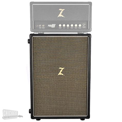 Dr Z Z Best 2x12 Extension Cabinet Closed Back Black With