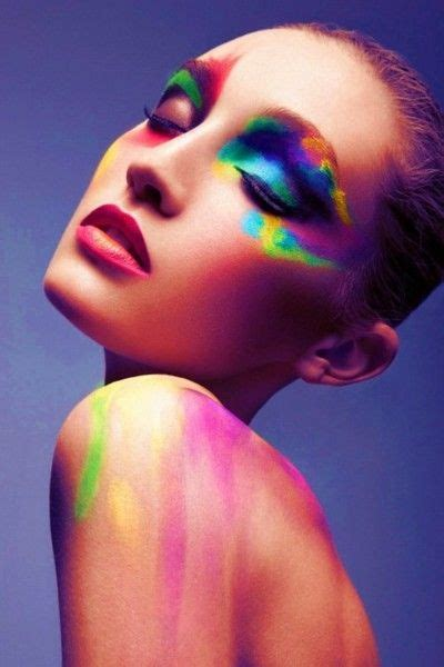 makeup for of color 12 fantastic neon makeup looks pretty designs