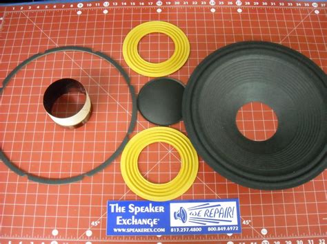 Speaker Fane Colossus fane colossus 15xb aftermarket recone kit speaker exchange