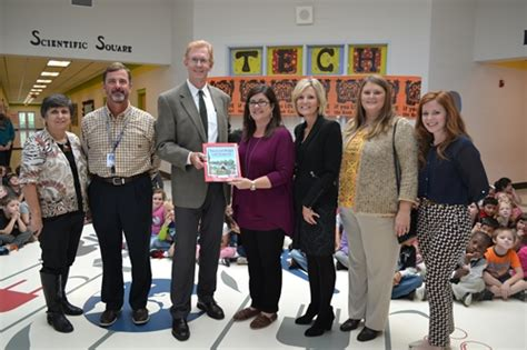 east lincoln elementary executive director of keep tennessee beautiful visits