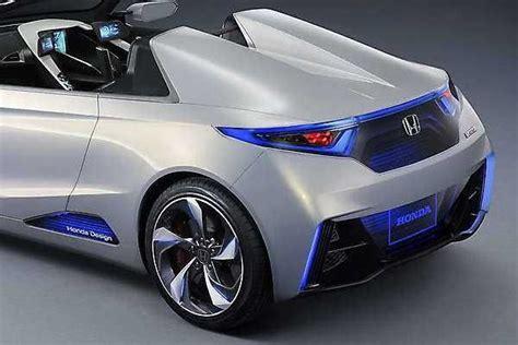 2019 honda electric car 2018 2019 honda ev ster concept an electric sports car