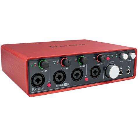 Home Design Software For Mac Uk by Focusrite Scarlett 18i8 171 Audio Interface