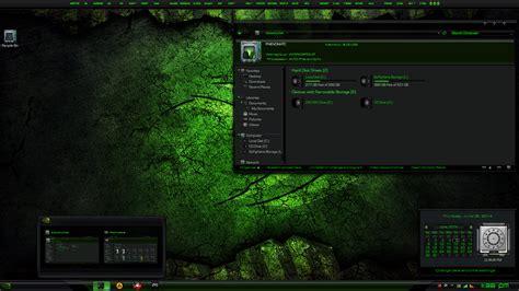 themes for windows 7 nvidia nvidia resurrection
