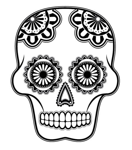 Day Of The Dead Drawings Easy by How To Create A Detailed Vector Sugar Skull Illustration