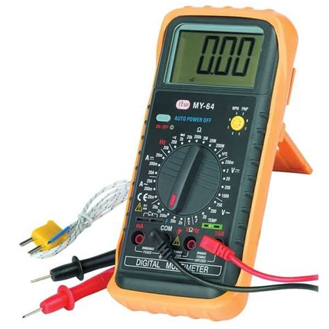 Multimeter Digital what is a digital multimeter dmm and its working principle details