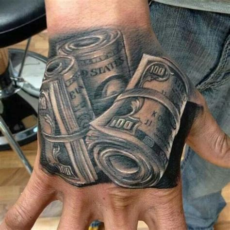 money bags tattoo designs money bags tattoos on right