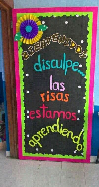 decoracion salon de clases escuela biblica m 225 s de 25 ideas incre 237 bles sobre puerta preescolar en
