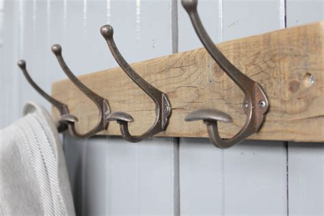 designer coat hooks limited edition reclaimed bowler hat and coat hook m 246 a