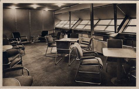 Blimp Cabin by The Hindenburg S Interior M4m Message Forums